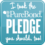 PureBond pledge badge