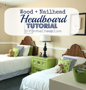 headboard tutorial 1